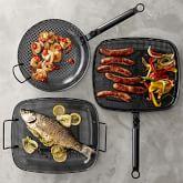 High Heat Nonstick Steel Grill Cookware Set