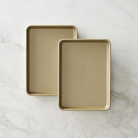 Williams-Sonoma Goldtouch® Nonstick Quarter Sheet, Set of 2