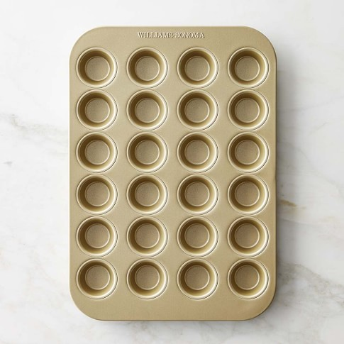 Williams-Sonoma Goldtouch® Nonstick Mini Muffin Pan, 24-Well