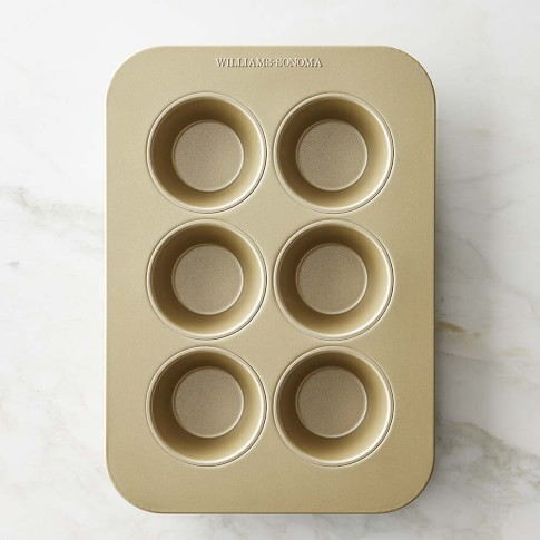Williams-Sonoma Goldtouch® Nonstick Large Muffin Pan, 6-Well