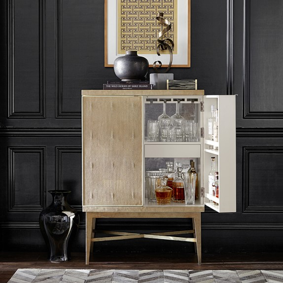seymour bar cabinet williams sonoma