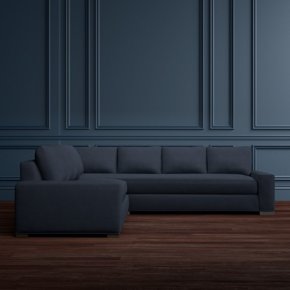 Robertson 2 Piece L Shaped Sofa Sectional Left Williams
