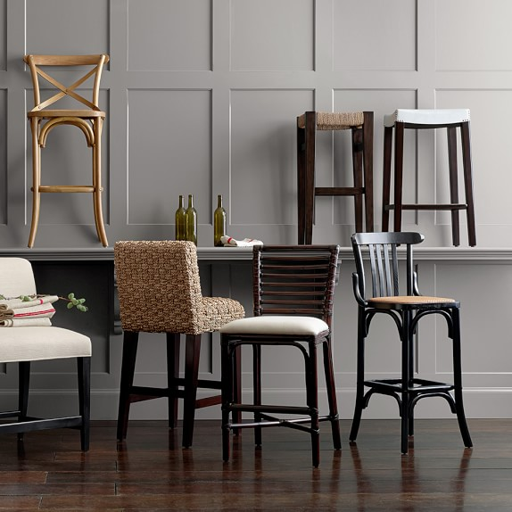 Antoine Bistro Counter Stool Williams Sonoma