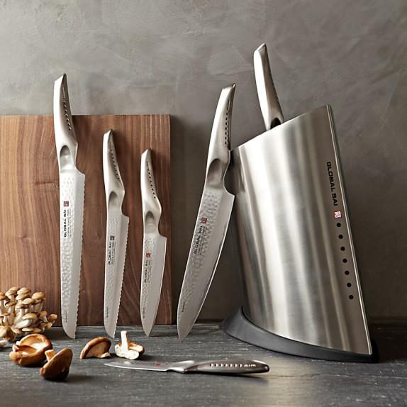 Hell S Kitchen  Piece Knife Block