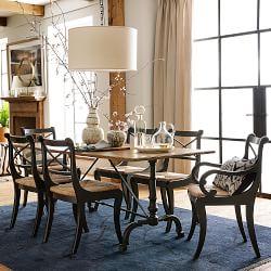 Bohemian Luxury Dining Room Williams Sonoma