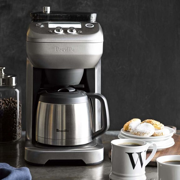 Coffee Maker With Grinder And Water Line : Breville Grind Control Coffee Maker Williams-Sonoma
