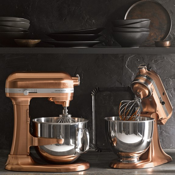 White And Rose Gold Kitchen Accessories