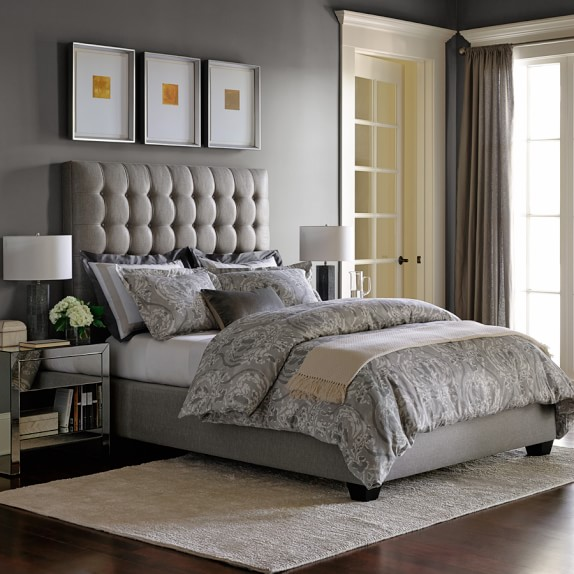 Fairfax Tall Bed Headboard Williams Sonoma