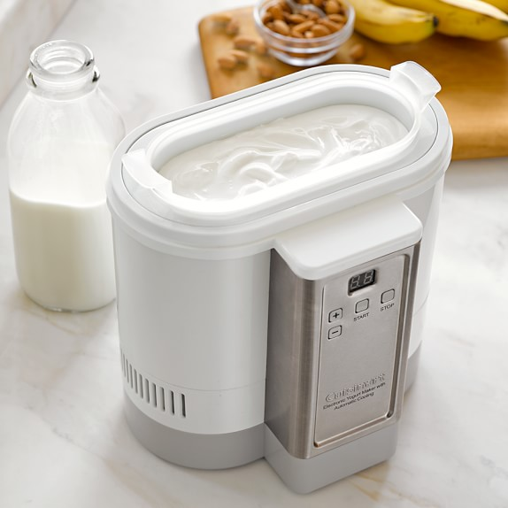 Cuisinart electric yogurt maker with automatic cooling c