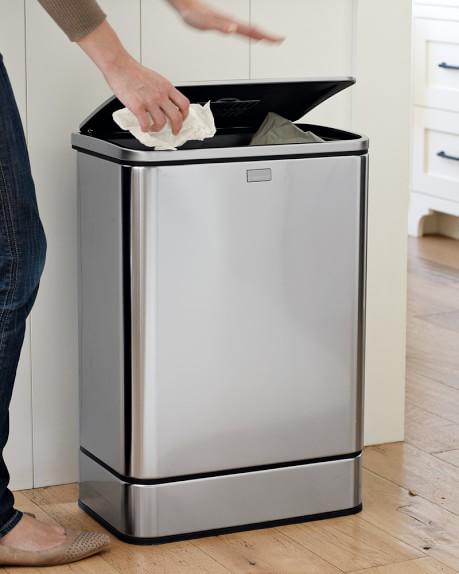 simplehuman sensor trash can williams sonoma. Black Bedroom Furniture Sets. Home Design Ideas