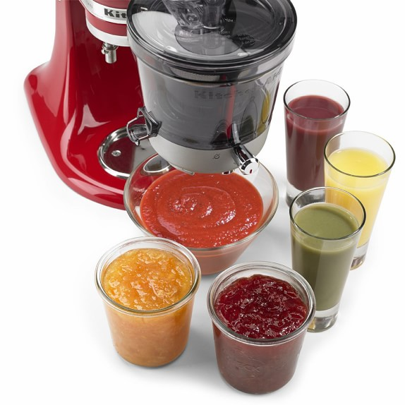 Kitchenaid Slow Juicer Stand Mixer Attachment : KitchenAid Stand Mixer Slow Juicer Attachment Williams-Sonoma