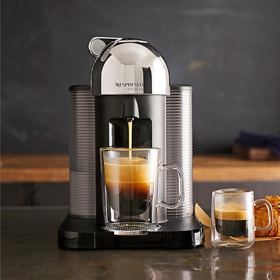 Nespresso Coffee Maker ~ Nespresso vertuoline coffee espresso maker williams sonoma