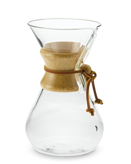 Chemex Pour-Over Glass Coffee Maker with Wood Collar Williams-Sonoma