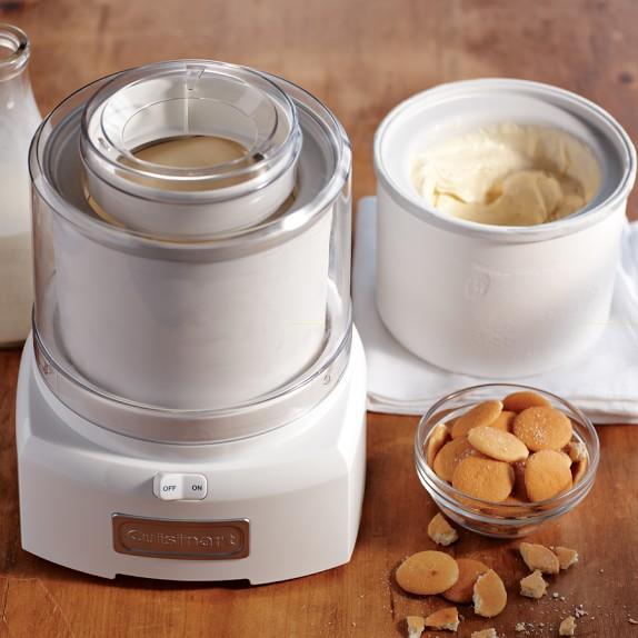 Ice Cream Makers ~ Cuisinart ice cream maker with extra freezer bowl