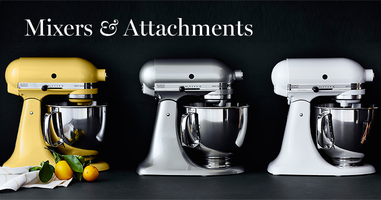 Mixers & Attachments