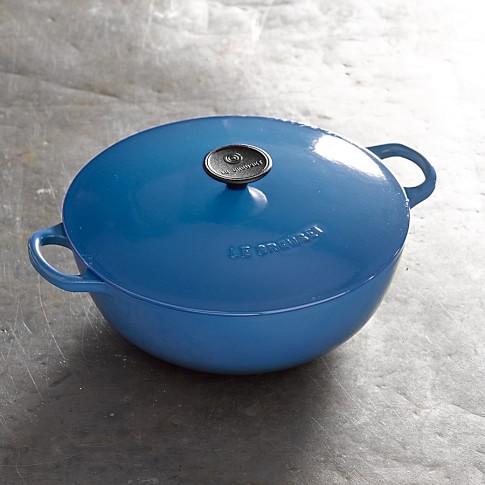 Le Creuset Cast Iron Chef's Oven, 4 1/4-Qt., Lapis