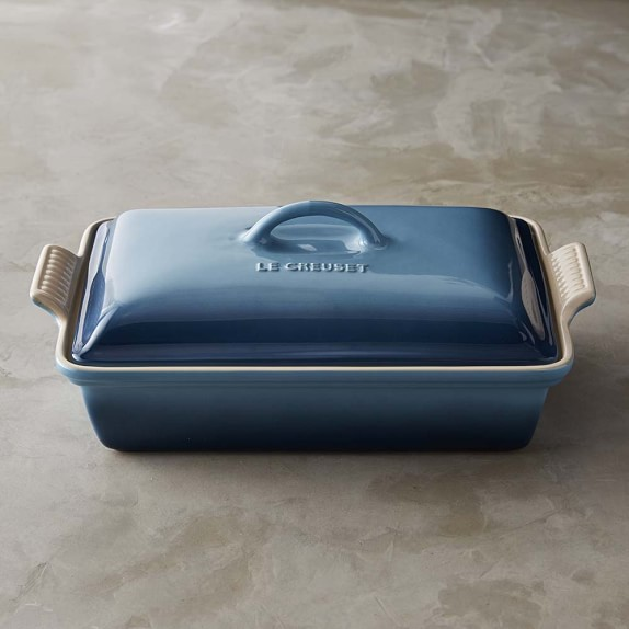 Le Creuset Heritage Stoneware Rectangular Covered Casserole, 12 1/2