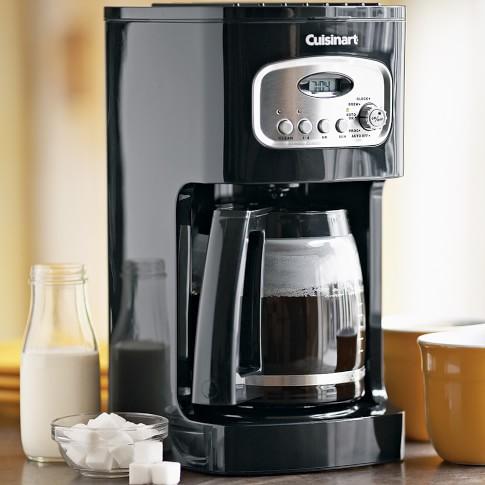 Cuisinart 12-Cup Programmable Coffeemaker, Black