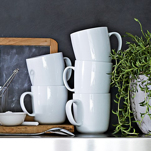 Williams-Sonoma Open Kitchen Mugs, Set of 4