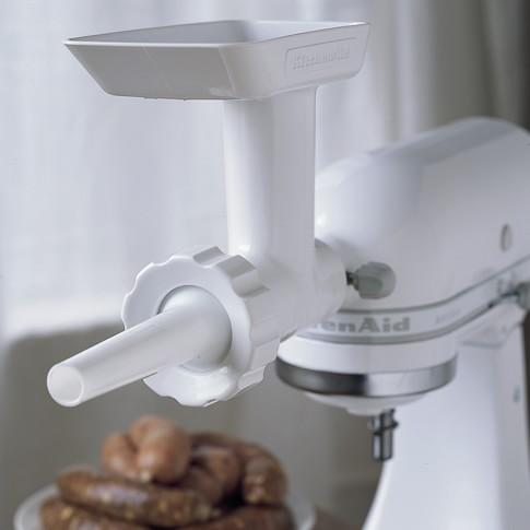 KitchenAid® Mixer Attachment, Sausage Stuffer Kit Attachment