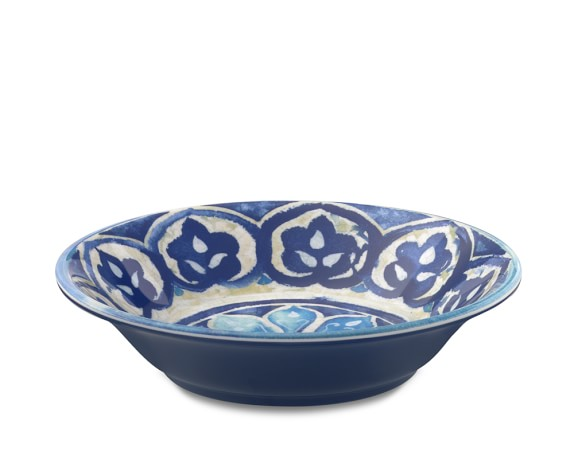 Blue Byzantine Individual Bowls, Set of 4