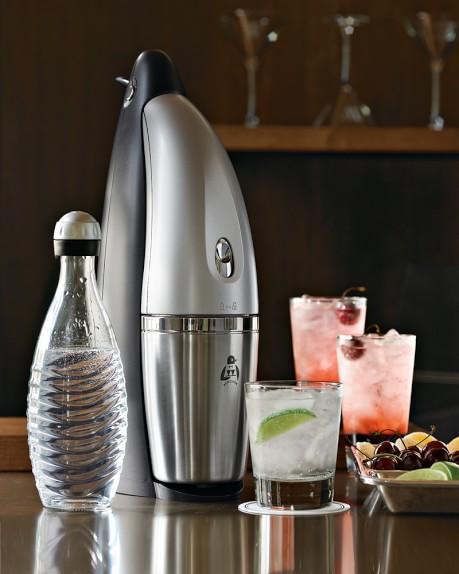 penguin sparkling water soda machine