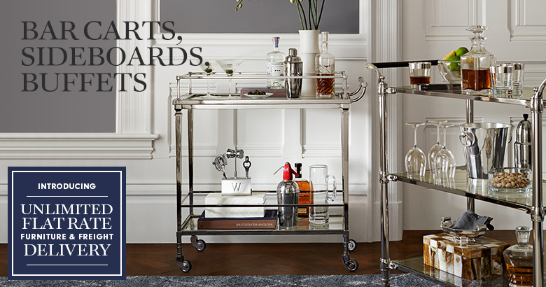Bar Carts, Sideboards & Buffets