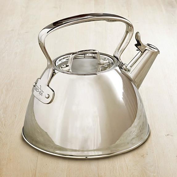 Stainless Steel Tea Kettle ~ All clad stainless steel tea kettle williams sonoma