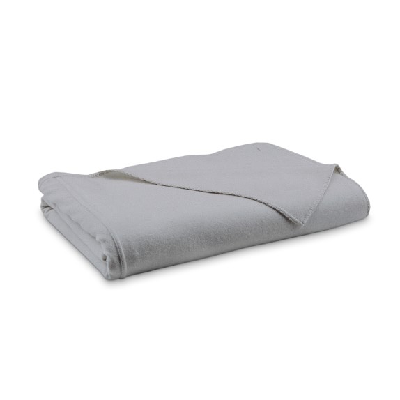 Cashmere Blanket, Full/Queen, Gray