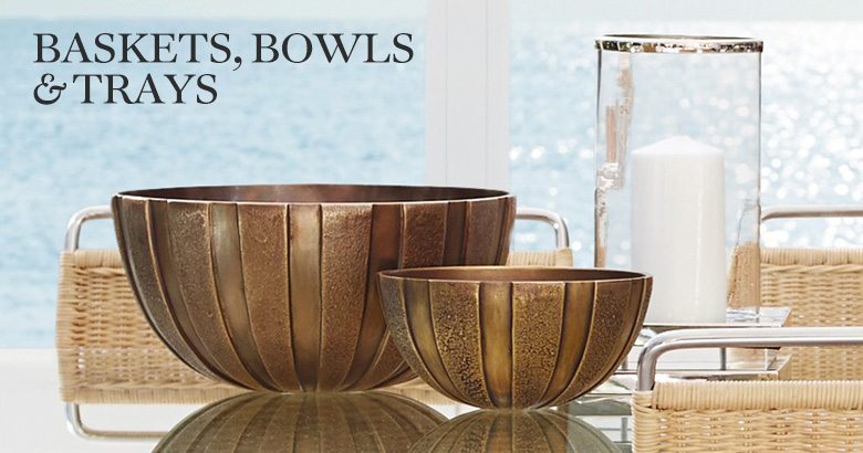 Baskets, Bowls & Trays