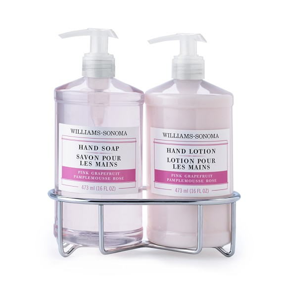 Williams-Sonoma Hand Soap & Lotion Set Gift, Pink Grapefruit