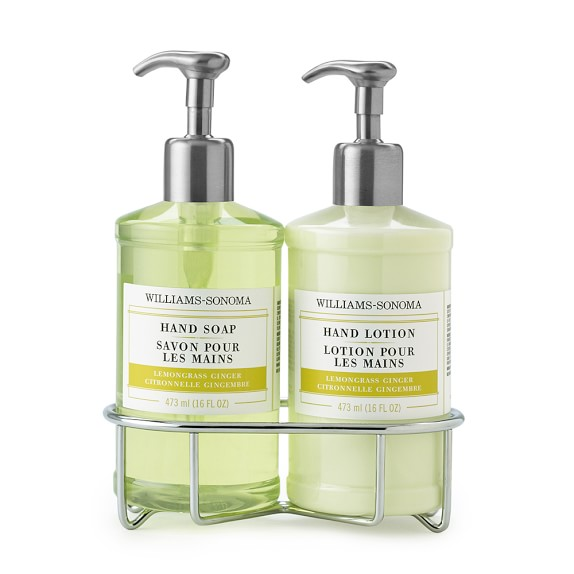 Williams-Sonoma Deluxe Hand Soap & Lotion Set, Lemongrass Ginger