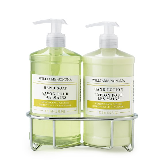 Williams-Sonoma Hand Soap & Lotion Gift Set, Lemongrass Ginger
