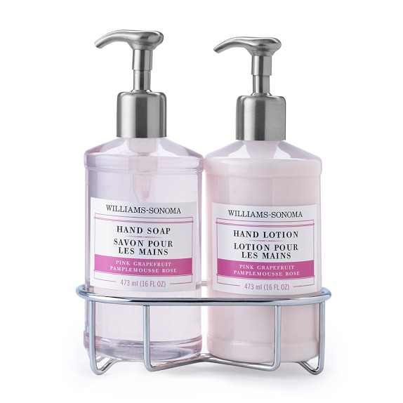 Williams-Sonoma Essential Oil Collection Deluxe Hand Soap & Hand Lotion, Pink Grapefruit
