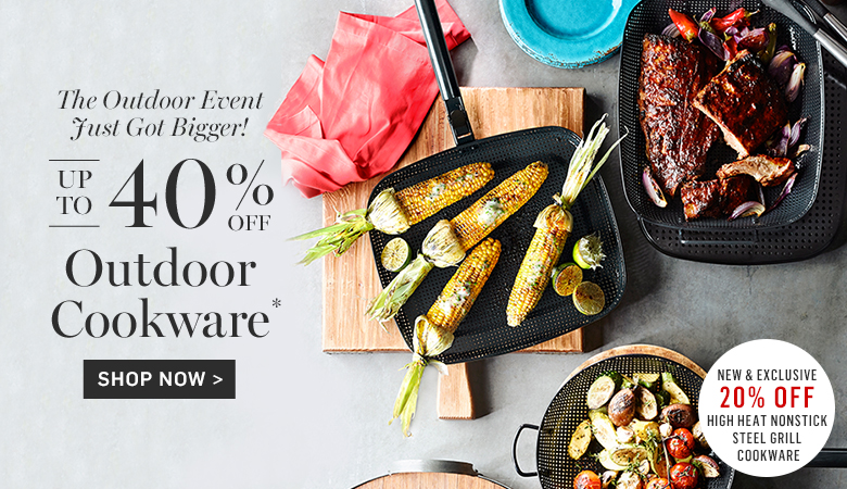 Up to 40% Off Outdoor Cookware