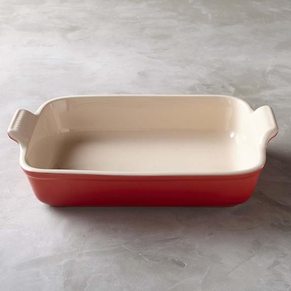 Le Creuset Stoneware Rectangular Baker, 9