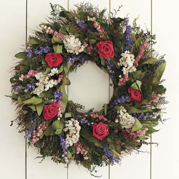 Garden Rose Wreath, 20