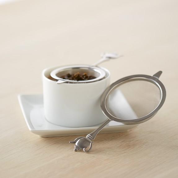 Tea Strainers Medium & Large, Set of Two
