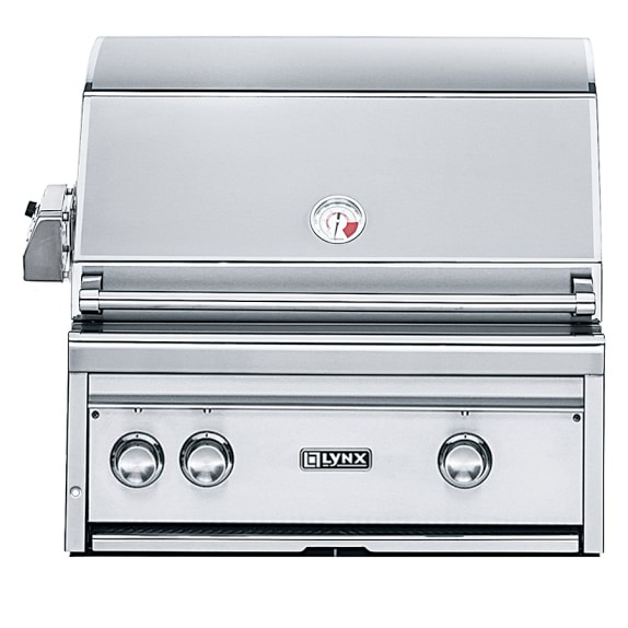 Lynx Professional Built-In Grill, Propane, Rotisserie, 27