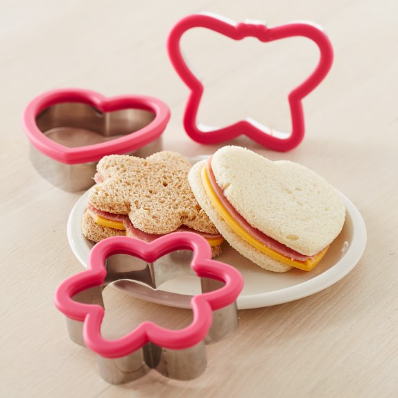 Williams-Sonoma Sandwich Cutters, Garden Set