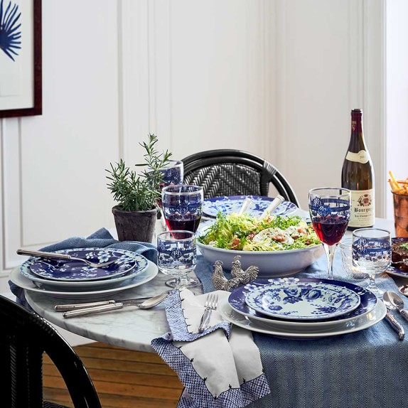 The Kitchen Greeley: French Blue Bouquet Dinnerware Collection