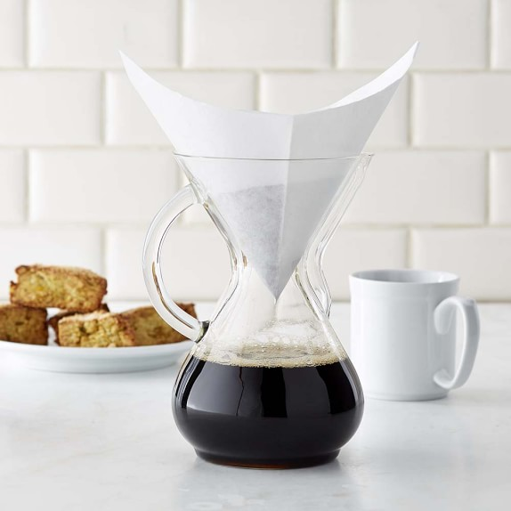 Chemex Pour-Over Glass Handle Coffee Maker Williams-Sonoma