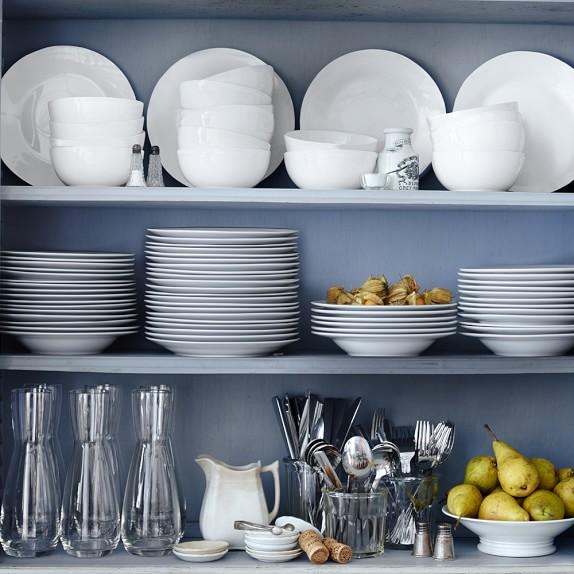 williams sonoma open kitchen dinner plates set of 4
