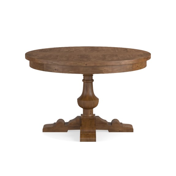 Balustrade Dining Table Round Avieux Bois