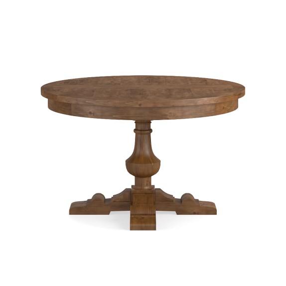 Balustrade Dining Table Round Avieux Bois