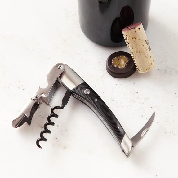 Zwilling Waiter's Corkscrew Wine Opener, Black
