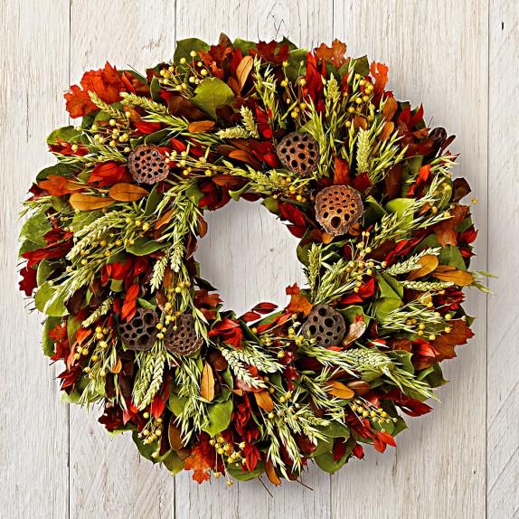Autumn Harvest Wreath, 22