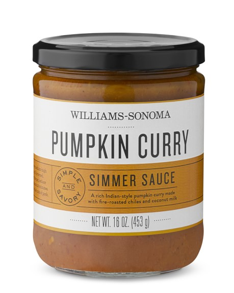 Williams-Sonoma Pumpkin Curry Simmering Sauce