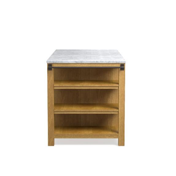 travis kitchen double island williams sonoma. Black Bedroom Furniture Sets. Home Design Ideas