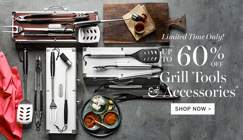 Up to 60% Off Grill Tools & Accessories